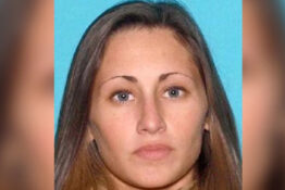 Mugshot of high school teacher Michelina Aichele, who sent explicit texts and photos to a student