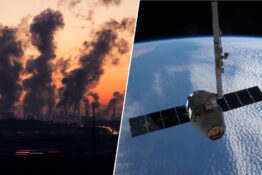 satellite monitoring pollution power plant emissions