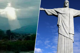 'Image Of Christ' Appears In Sky Over Argentina